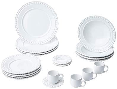 Aparelho De Jantar 20 Peças Atenas Branco