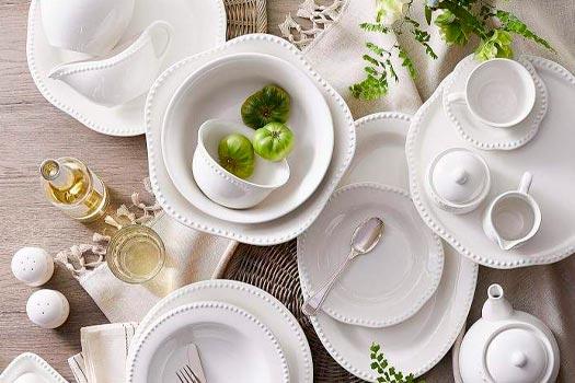Aparelhos de Jantar para decorar a mesa de jantar