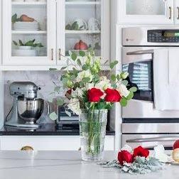 Objetos de decoração para cozinha