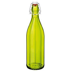 Garrafa Oxford Vidro Bormioli Rocco Verde 1 Litro