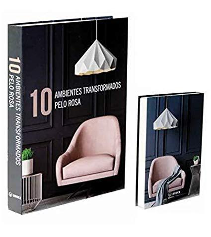 Livro Caixa Decorativo Book Box Ambientes Rosa