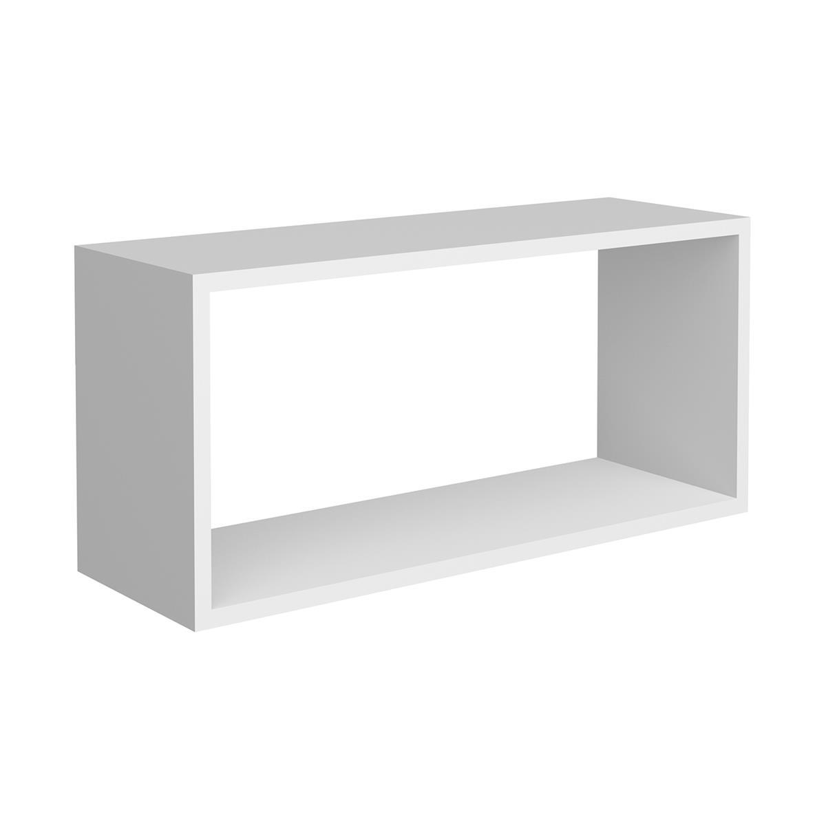 Nicho Decorativo Gaam MDF 28x20x60Cm Branco