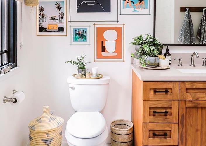 Produtos Para Decoração do Banheiro