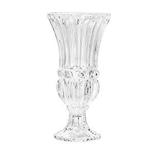 Vaso de Cristal com Pé Athena Rojemac Transparente Cristal