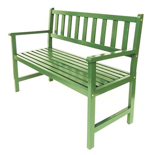 Banco Jardim Colorido Suze Verde Folha