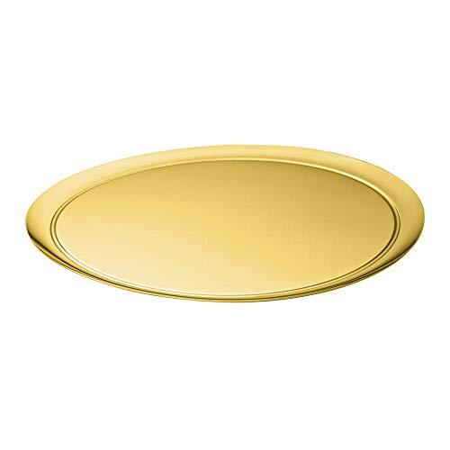 Bandeja Garçom Inox Revestido Riva Ouro
