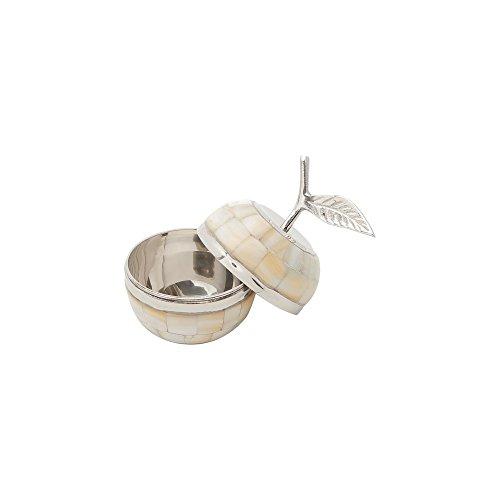 Bomboniere de Latão 10,5cm Madrepérola Prestige