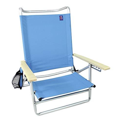 Cadeira Malibu 5 Posições Alumínio 90 kg Bel Fix