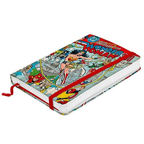 Caderneta de Anotações DC Comics Wonder Woman - Urban - 14x9,5 cm