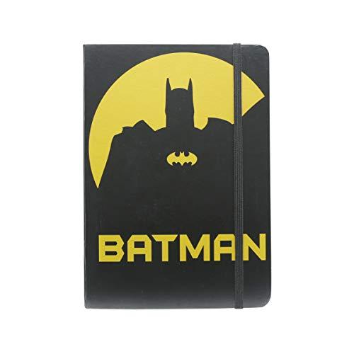 Caderneta de Anotação Dc Batman Shadow Urban Amarelo Papel
