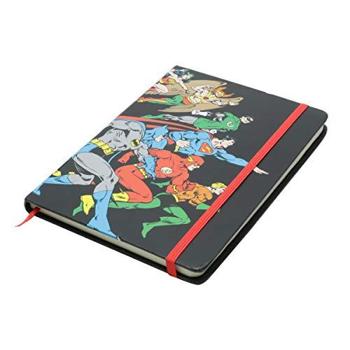 Caderneta de Anotação Dc Liga da Justiça Urban Colorido Papel