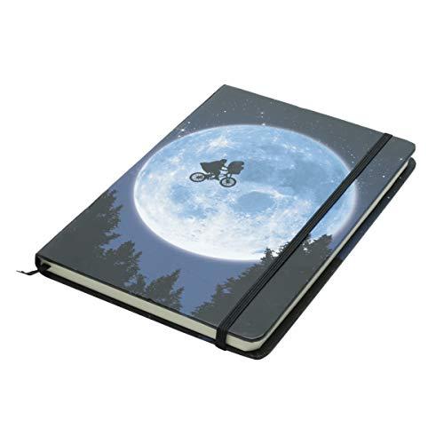 Caderneta de Anotação E.T; bike in the Moon Urban Azul Papel