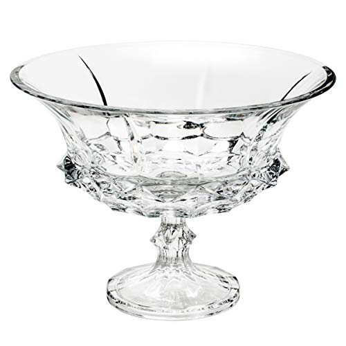 Centro de Mesa com Pé Soho Rojemac Cristal Cristal