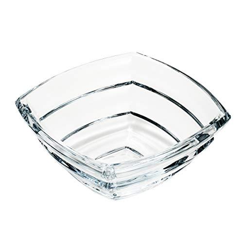 Centro de Mesa de Vidro Sodo-Cálcico com Titânio Rojemac Cristal Cristal