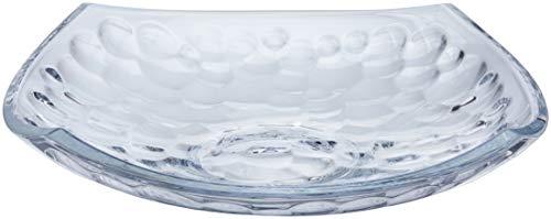 Centro de Mesa de Vidro Sodo-Cálcico com Titânio Rojemac Transparente Cristal