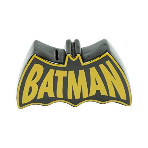 Cofre Cerâmica Wb Dc Or Batman Bat Preto/ Urban Amarelo Cerâmica