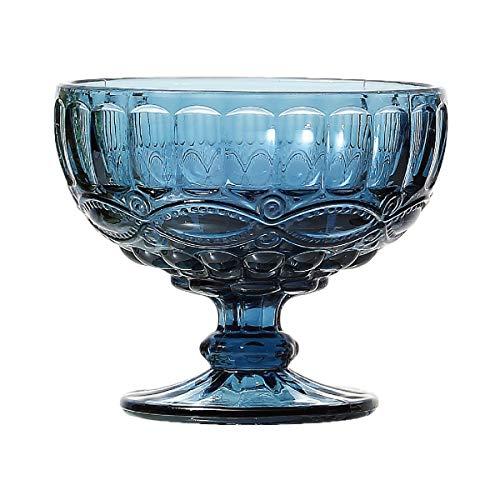 Conjunto 6 Taças de Vidro Libélula Lyor Azul 310Ml