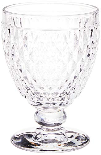 Conjunto 6 Taças para Água de Vidro Boston Lyor Transparente 330Ml