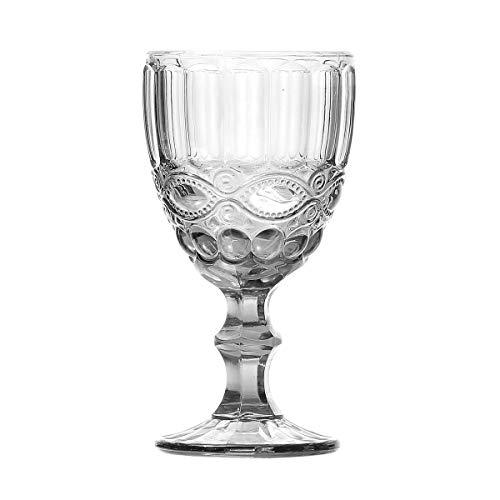 Conjunto 6 Taças para Água de Vidro Libélula Lyor Transparente 260Ml