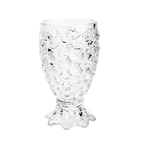 Conjunto 6 Taças para Água de Vidro Pineapple Lyor Transparente 200Ml