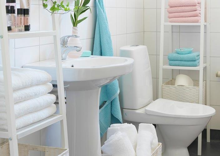 Decoração de Banheiro Pequeno Simples Decorado