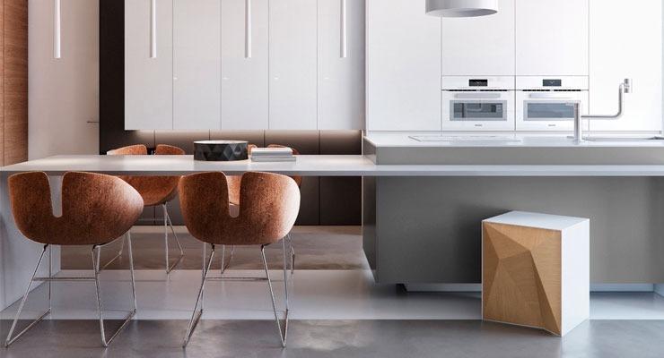 Equilíbrio Visual na Cozinha