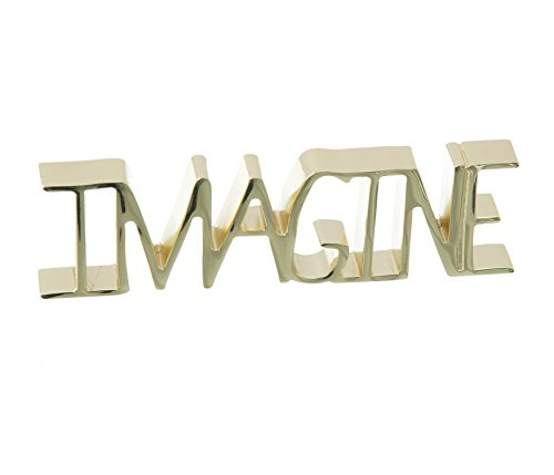 Escultura Imagine Umbra Dourado