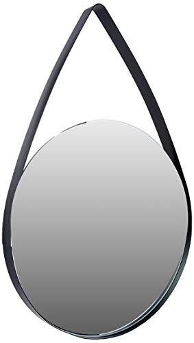 Espelho Em Metal Mart Preto