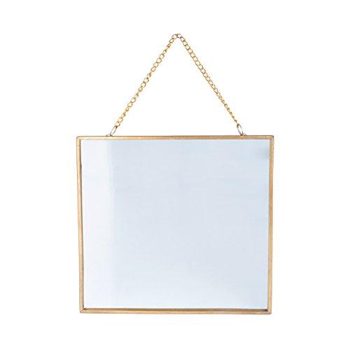 Espelho Metal/Vidro Dc Esquadrão Suicidauare Wall Art Urban Dourado