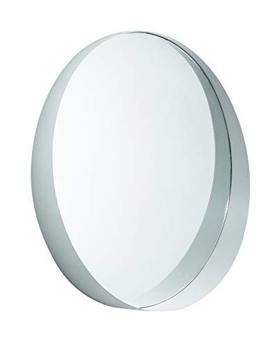 Espelho Off White Em Metal Mart Preta