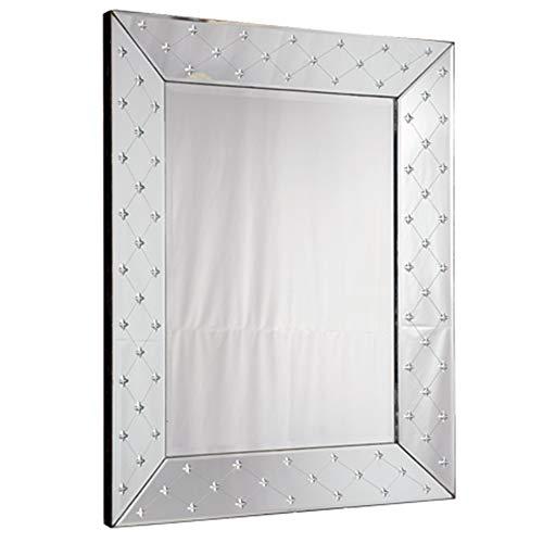 Espelho Veneziano Bisotado Decorativo Sala Quarto ALS 33