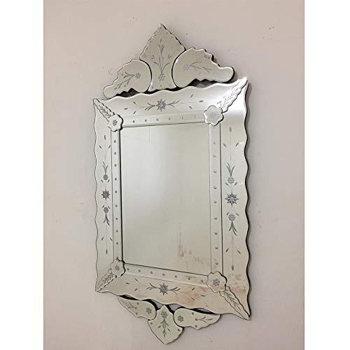 Espelho Veneziano Bisotado Decorativo Sala Quarto ALS 41