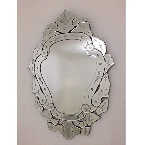 Espelho Veneziano Bisotado Decorativo Sala Quarto ALS 42