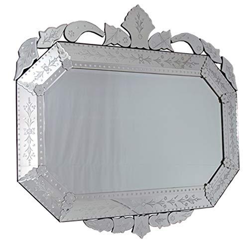 Espelho Veneziano Bisotado Decorativo Sala Quarto ALS 45