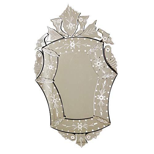 Espelho Veneziano Bisotado Decorativo Sala Quarto ALS 59