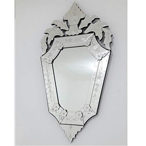 Espelho Veneziano Bisotado Decorativo Sala Quarto ALS 64