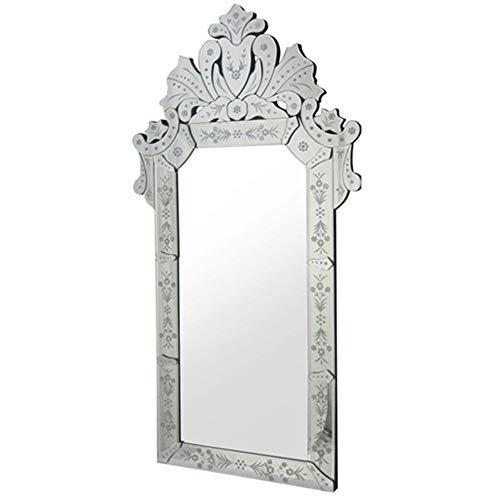 Espelho Veneziano Princesa Cor Prata 1,20 MT (ALT) - 34310 Sun House