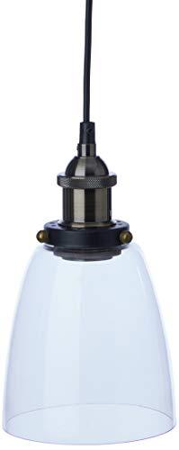 Luminária Em Vidro E Metal Mart Transparente