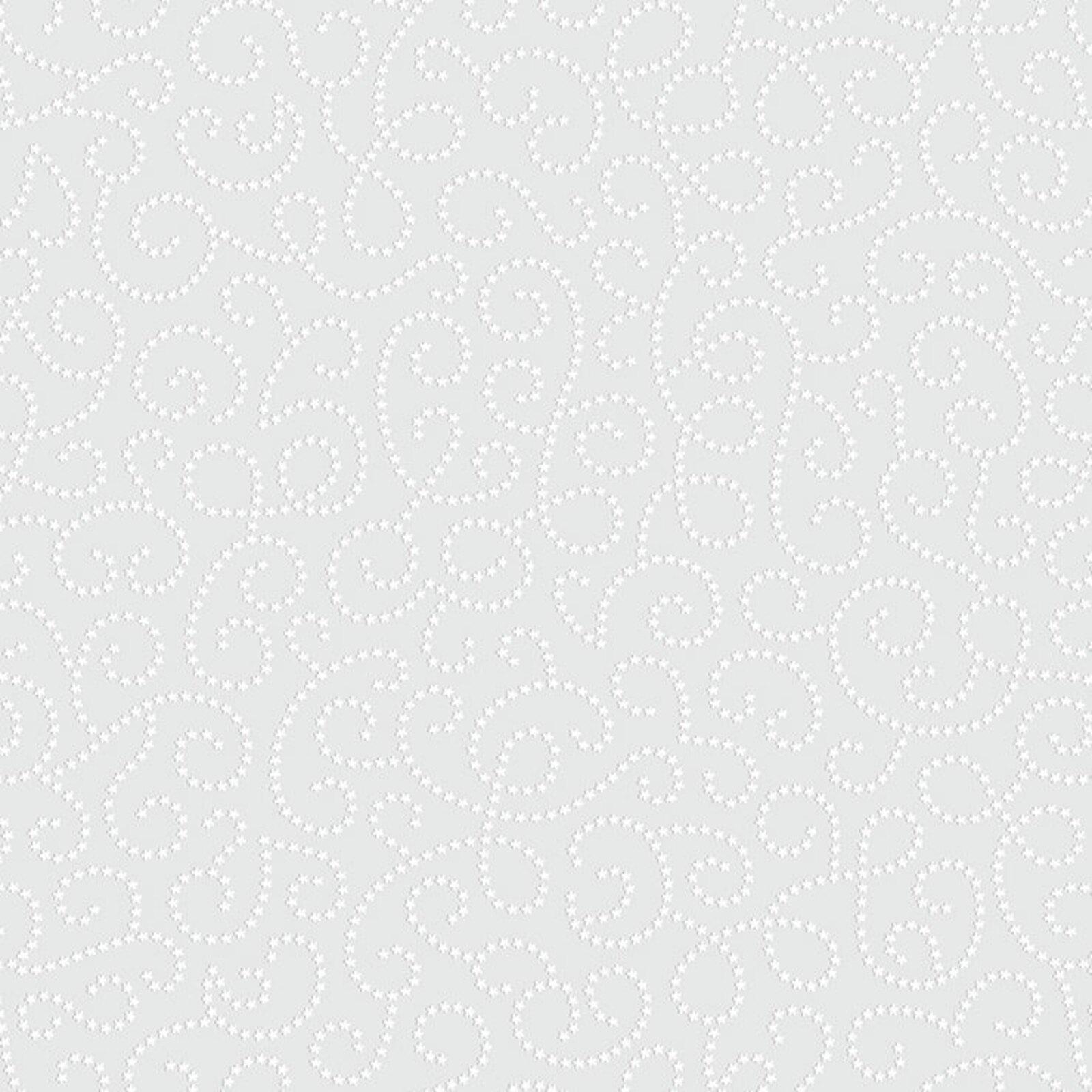 Papel de Parede Lyam Decor Arabesco Cinza