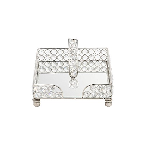 Porta Guardanapo Luxo em Cristal - Wolff - 19x6 cm