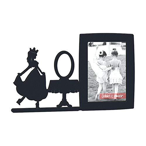 Porta-retrato Decorar Presente Espelho Espelho Meu Preto