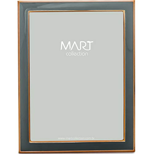 Porta-Retrato em Metal - 15 X 20 Mart Cinza Mart Collection