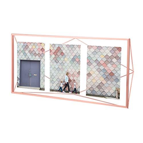 Porta Retrato Multi Frame Umbra Prisma Cobre