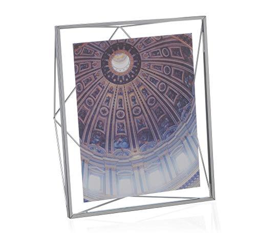 Porta Retrato Prisma Umbra Cromado