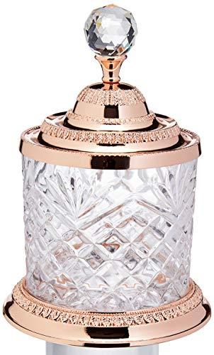 Pote Multiuso De Zamac Cristal Rosé 12,5x18,5cm Lyor Rosé