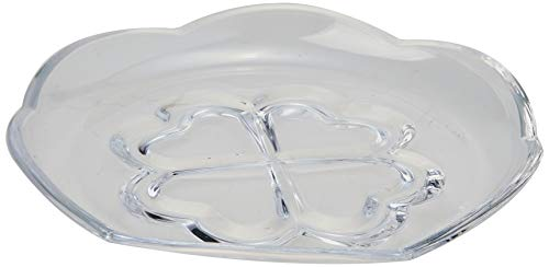 Prato P/sobremesa De Cristal Saigon 16, 5x5, 5cm Lyor Transparente No Voltagev