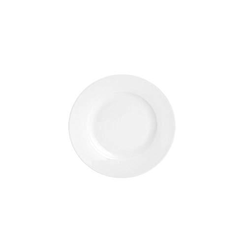 Prato P/sobremesa De Porcelana Basic 19cm Lyor Branco No Voltagev