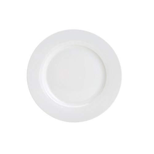 Prato Raso De Porcelana Basic 26, 5cm Lyor Branco No Voltagev