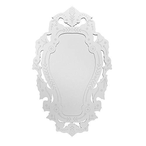 Quadro Espelho Decorativo Veneziano Amb. Sala Quarto 3893