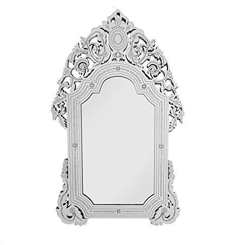 Quadro Espelho Decorativo Veneziano Sala Quarto 3885